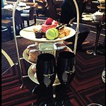 High tea with Dom Perignon