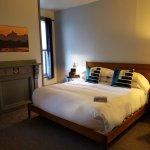 Queen room, comfy bed