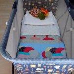 lit bébé avec vrai matelas