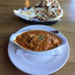 Chicken Curry With Naan Bread