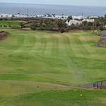Golf in the warm wind of Lanzarote