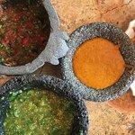 Colorful salsas