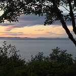 View from grounds go Vancouver Island, and Victoria BC.