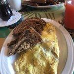 Shroom Boom omelette