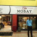 One of the entrances to Club Mobay