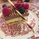 Amazing triple chocolate cake
