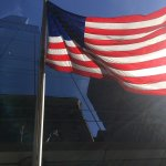 Loved these flags on a pretty day in front of the Marriott.