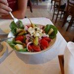 Cycladic Salad - Tasty! Everything Tasty!