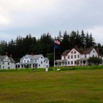 Partial View of Fort Seward Parade Grounds (House No. 1 on Left)
