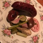 Sausage and Pickled Veggies