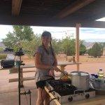 cooking up some Fajitas!!