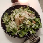 Rocket, pear, walnut salad - delicious
