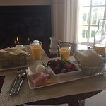 Breakfast in our room!