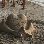 Sand Sculpture for on site wedding