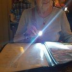 Flashlight needed to see menu