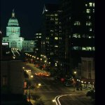 Austin Capitol at Night