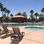 Splash pool and spa