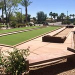 Horseshoes and Bocce Ball