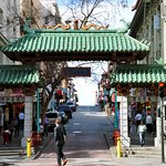 Dragon's Gate and Chinatown is steps away.