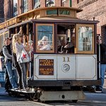 Take a trip on the iconic Cable Car! The stop is 1/2 block away.