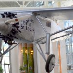 Charles Lindbergh called the the Spirit of Saint Louis for a reason