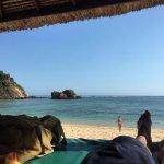 Beach from beach hut