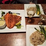 Great meal prepared by the chef at Mykel's