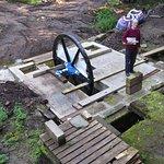 John Home Robertson and the waterwheel excavation