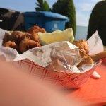 combo shrimp, scallops, fish,, etc