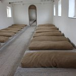 Women's dormitory, Portumna Workhouse - one fire for the whole room