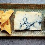 gorgonzola, 3 year gouda, floral goat cheese