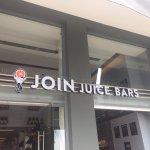 Join Juice Bars - shop's entrance