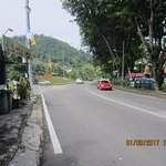 Busy Batu Ferringhi road