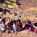 Matrimonio sull'isola di Taquile (lago Titicaca)