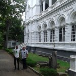 Gavin & Paul outside the National Museum in Colombo, May 2015