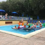 Kids club in the small pool
