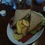 Lovely lunch sandwich ..
