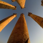 The Swaying columns of Jaresh