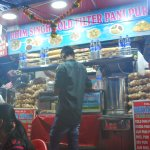 One of the food stalls