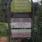 Durban Botanic GardensInformation Board