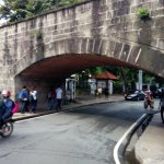 One of several vehicular underpasses that allow vehicles to transit Intramuros.