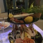 Delicious and fresh seafood