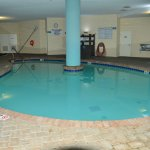 Spotless heated Pool! Indoor!
