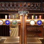Grosse Auswahl an Bieren