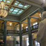 Joseph Smith Statue in the Lobby of the Memorial Building