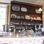 The Tea Room at Hartland Abbey