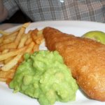 Grimsby cod & chips.