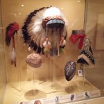 Some Native American crafts.