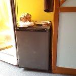 Kühlschank im Zimmer