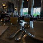 Byron Restaurant at Breakfast